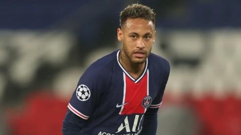Neymar's contract with Paris expires next season (Getty).