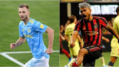 Philadelphia Union and Atlanta United clash for the second leg of the CCL quarterfinals (Getty).