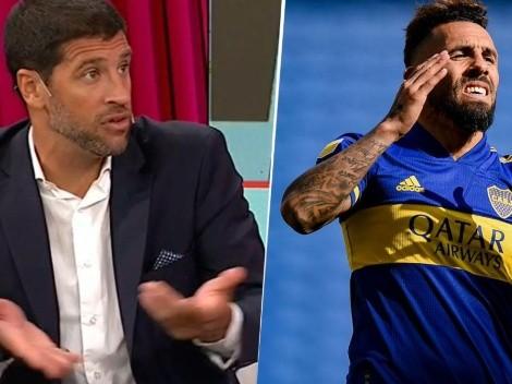 Seba Domínguez dijo quién es el jugador de Boca que mejor se entiende con Tevez