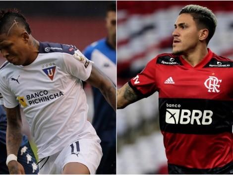 Flamengo travel to Quito's high altitude today to face Liga in Copa Libertadores 2021