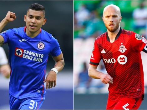 Cruz Azul clash with Toronto FC at the Estadio Azteca searching Concachampions semifinals