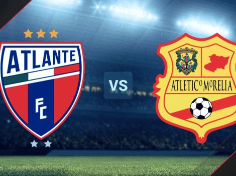 EN VIVO: Atlante vs. Atlético Morelia por la Liga de Expansión MX