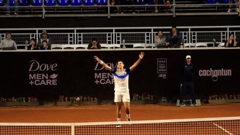 Tomás Barrios debutó con un triunfo en el cuadro principal del Challenger de Biella en Italia