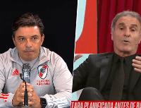 "Ruggeri, para Gallardo: ""Tenés que saber jugar de contragolpe"""