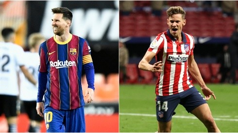 Barcelona and Atletico Madrid clash this weekend in a potentially season-defining game (Getty).