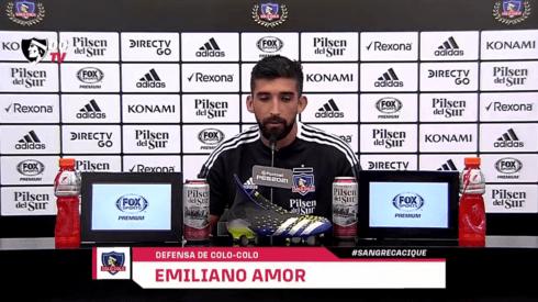 El increíble deseo que vivió Emiliano Amor con Colo Colo.