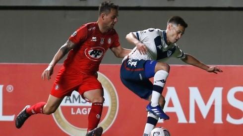 Unión La Calera cede terreno en la Copa Libertadores.
