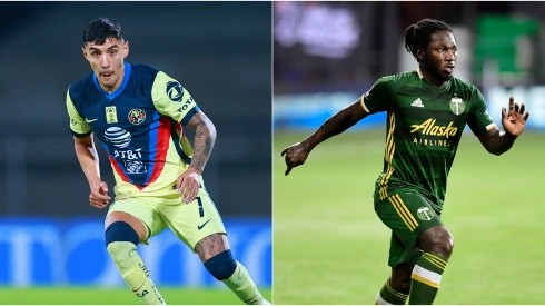 Club America and Portland Timbers clash in the second leg of a wide open series (Getty).