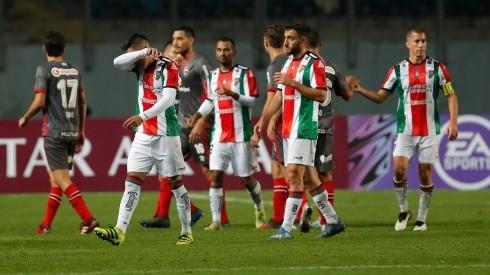 Palestino no encuentra el rumbo en la Copa Sudamericana.