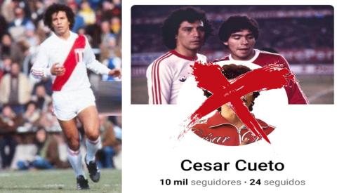Dejen en paz al 'Maestro': César Cueto denuncia suplantación de identidad en redes sociales