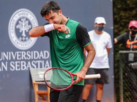 Tomás Barrios quedó eliminado en el Challenger de Biella V