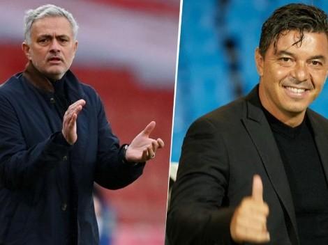 TyC Sports: Mourinho llegó a la Roma ¡porque Gallardo rechazó la oferta antes!