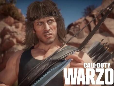 Al estilo Fortnite: CoD Warzone recibirá colaboraciones y Rambo sería la primera