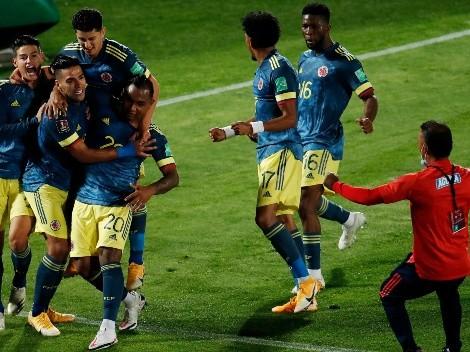 Fechas y horas para los próximos partidos de Colombia en las Eliminatorias