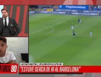 Lautaro Martínez no dudó cuando Vignolo le preguntó el equipo que mejor juega en Argentina