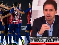Video: ¿A Closs se le escapó en vivo que es hincha de San Lorenzo?