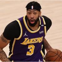Los Lakers y su mala suerte: Anthony Davis se volvió a lesionar