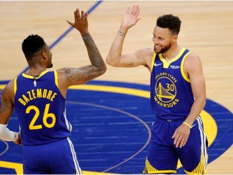 A fuerza de Stephen Curry, los Warriors se ilusionan con los playoffs