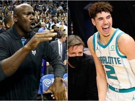 Jordan prepara a su sucesor en la NBA: así es la relación con LaMelo Ball