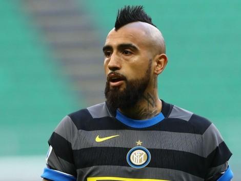Arturo Vidal recibió una oferta para jugar la Copa Libertadores