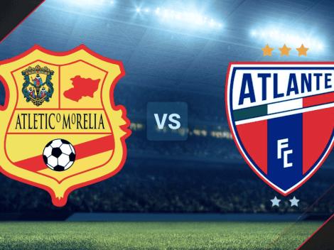 VER EN VIVO y ONLINE Atlético Morelia vs. Atlante vía TV Azteca