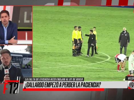 """Mariano Closs sobre el enojo de Gallardo: """"Ahí es un nene"""""""