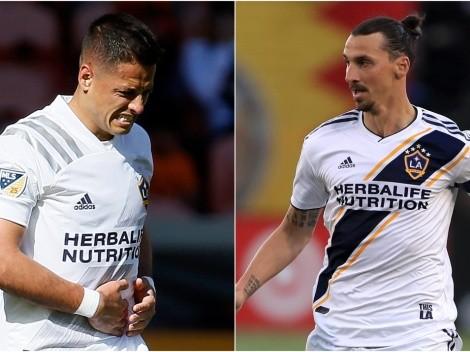 El promedio de gol de Zlatan que debe superar Chicharito