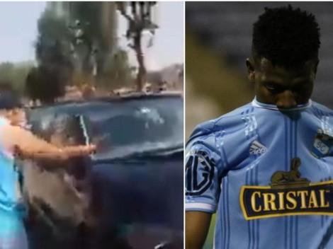 Corozo es insultado por hinchas de Sporting Cristal en las afueras de La Florida