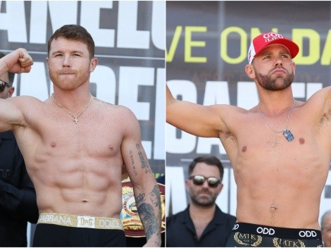 Canelo Alvarez and Billy Joe Saunders hog the spotlight in exciting unification bout