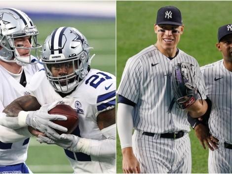 Cowboys y Yankees, primeros: los equipos más valiosos del 2021