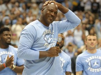 Michael Jordan en Universidad de North Carolina