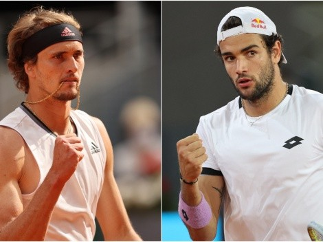 There can be one: Zverev and Berrettini clash in the Madrid Open Final