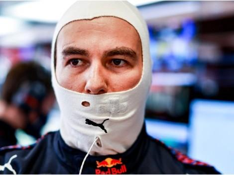 Checo tuvo un problema físico en la clasificación del Gran Premio de España