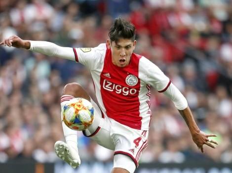 Ajax ganó pero Edson Álvarez vio la roja en la primera mitad