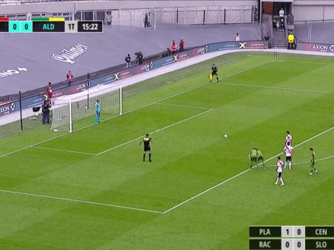 Los penales se patean como los patea Montiel: 1-0 clave para River ante Aldosivi