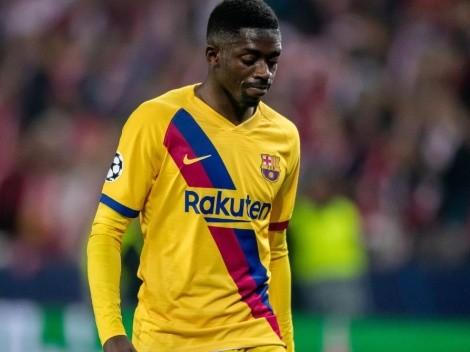 """""""Barcelona teme que Dembelé quiera irse gratis en 2022"""""""