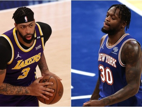 Lakers and Knicks clash in playoff tune-up