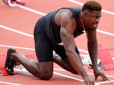 DK Metcalf compitió en atletismo por un lugar en Tokio 2020: ¿cómo le fue?