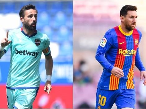 Barcelona visit Levante to keep on fighting for La Liga title