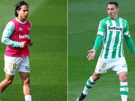 ¿Qué necesitan Lainez y Guardado para clasificar al Betis a la Europa League?