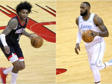 Lakers look to avoid the play-in tournament as they host the struggling Rockets