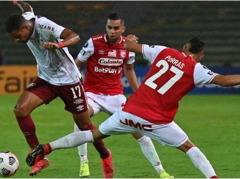Fluminense host Independiente Santa Fe today at the Maracana Stadium in a Copa Libertadores rematch