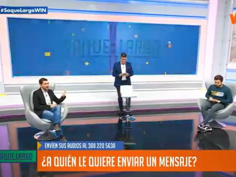 """""""Hoy en Colombia se puede hacer de todo, menos jugar fútbol"""", dice en Saque Largo"""