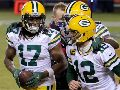 Davante Adams y Aaron Rodgers, NFL