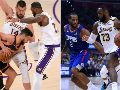 Golden State Warrior,s Los Angeles Lakers y Los Angeles Clippers