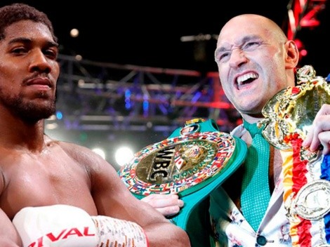 Anthony Joshua vs Tyson Fury: hay fecha y sede, falta la firma