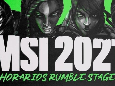 Resultados de la Fase Rumble del MSI 2021 de League of Legends