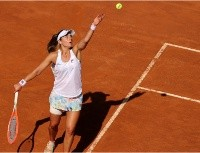 Pesadilla para Serena Williams: Nadia Podoroska la dominó y eliminó de Roma