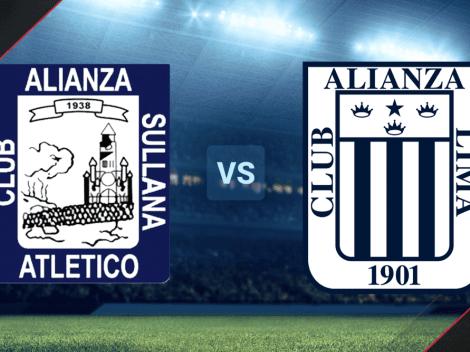 Ver EN VIVO Alianza Atlético vs Alianza Lima por el Campeonato Descentralizado: Hora y canal de TV