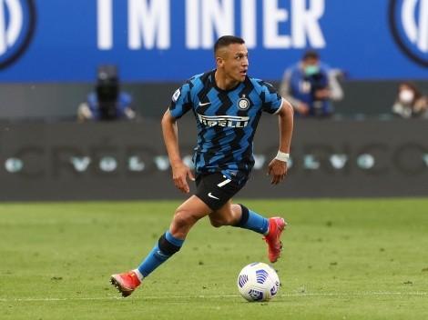 ¡Preocupación para La Roja! Alexis muestra gran nivel, pero se lesiona en el Inter